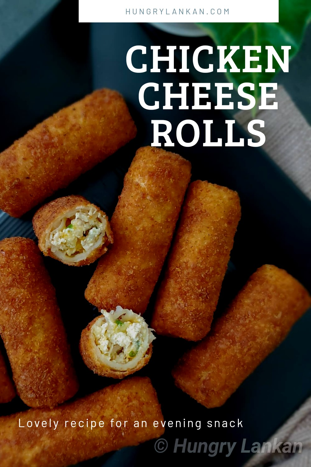 Sri Lankan rolls with a hotter and a better twist. These hot and cheesy crunchy rolls are going to be the KING of your next party!