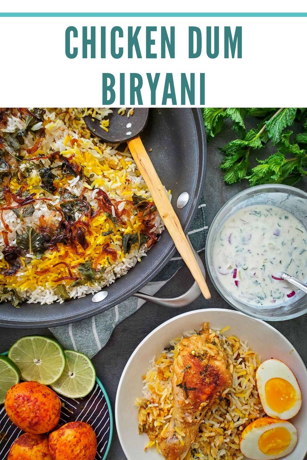 The BEST chicken dum biryani recipe that actually gives you the perfect Biryani every time.